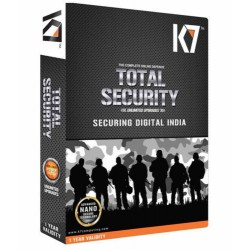 K7 TOTAL SECURITY ANTIVIRUS SERIAL KEY ONLY 1 user 1 year